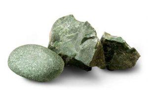 """Камни для бани и сауны """"Жадеит"""", колотый, 20кг."""