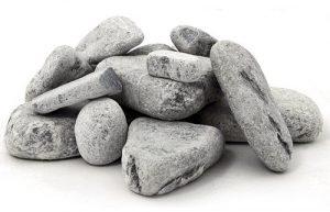 """Камни для бани и сауны """"Талькохлорит"""", колотый, 20кг."""